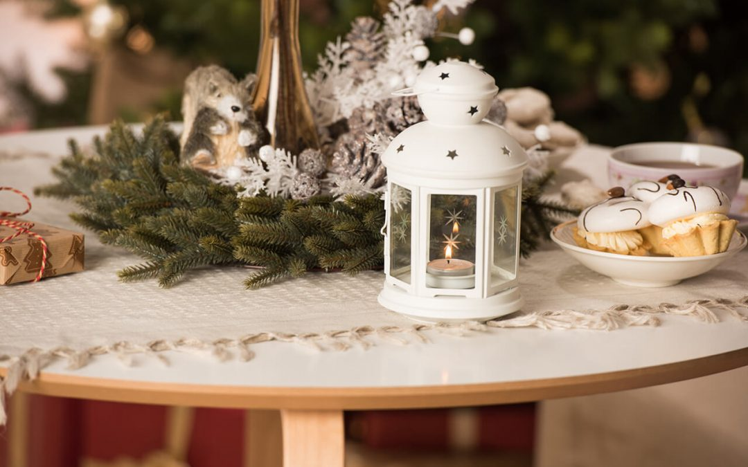 Practice fire safety for the holidays by never leaving burning candles unattended.